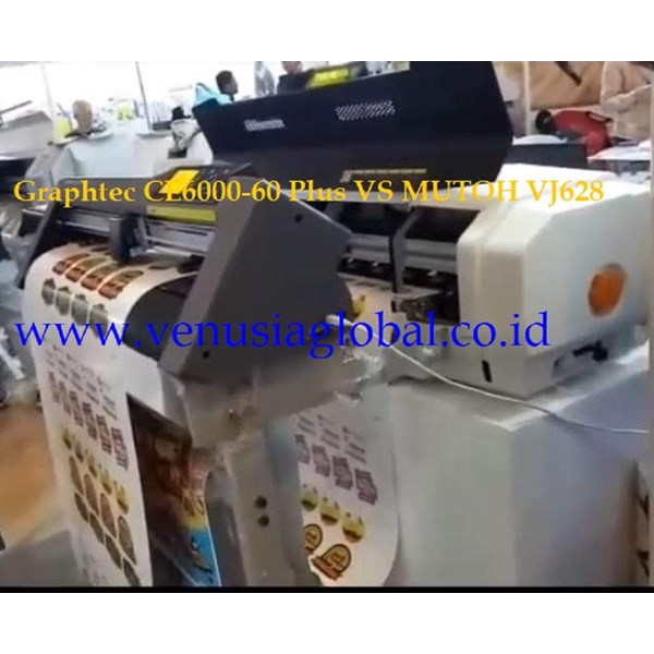 Paket Mesin Cetak Digital Print Mutoh VJ628 N Cutt Graphtec CE6000 - 60
