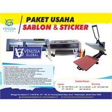 PAKET USAHA DIGITAL SABLON STIKER CUTTING GRAPHTEC