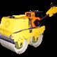 BABY ROLLER COMPACTOR TIGON TG-VR600 C