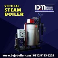 Water Tube Steam Boiler Kapasitas 0.5T/H- Pt Indira Dwi Mitra 1