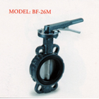Cast Iron Butterfly Valve BF-26M 1