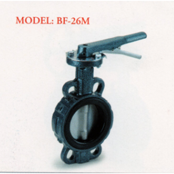 Cast Iron Butterfly Valve BF-26M