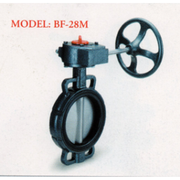 Cast Iron Butterfly Valve BF-28M