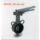 Stainless Steel Butterfly Valve BF - 304 - 26S 1