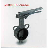 Stainless Steel Butterfly Valve BF - 304 - 26S