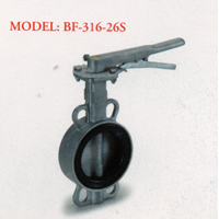 Stainless Steel Butterfly Valve BF - 316-26S