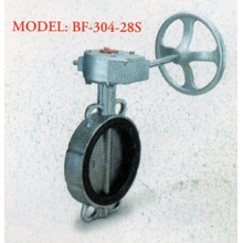Stainless Steel Butterfly Valve BF - 304