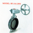 Stainless Steel Butterfly Valve BF - 316-28M 1