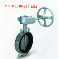 Stainless Steel Butterfly Valve BF - 316-28M