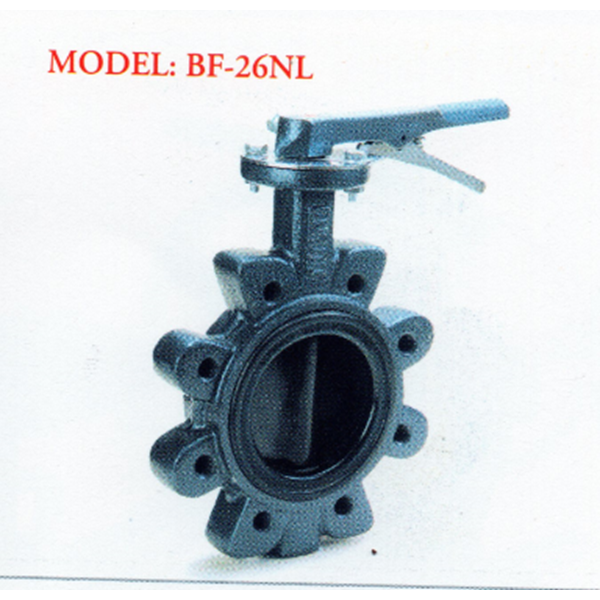 Cast Iron Butterfly Valve BF - 316-26NL