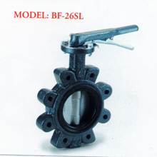 Cast Iron Butterfly Valve BF - 26SL