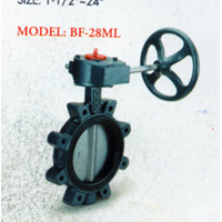 Cast Iron Butterfly Valve BF - 28ML