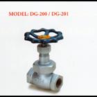 Ductile Valve Iron Globe DG-200 / DG-201 1
