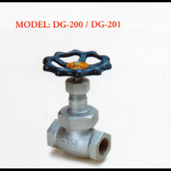 Ductile Valve Iron Globe DG-200 / DG-201