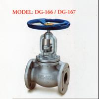 Ductile Valve Iron Globe DG-166 / DG-167