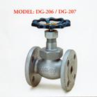 Ductile Iron Globe Valve DG-206 / DG-207 1