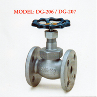 Ductile Valve Iron Globe DG-206 / DG-207