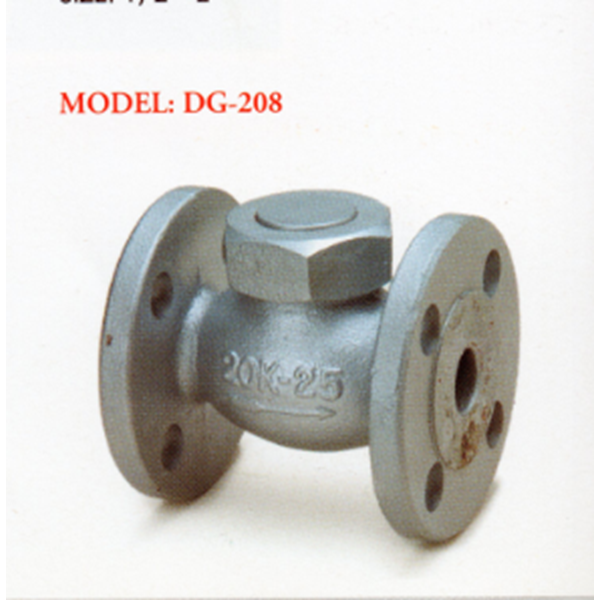 Ductile Valve Iron Lift Check DG-208