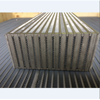 Jual Custom Screw Air Compressor Aluminum Cooler 2