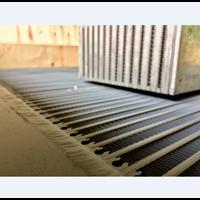 Distributor Custom Screw Air Compressor Aluminum Cooler 3
