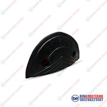 Rubber Speed Bump End Cap