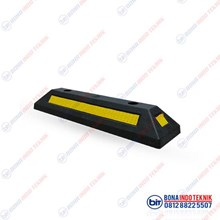 Car Park Wheel Stopper Safety and PPE Rubber Wheel Stopper