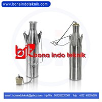 Jual sampling can stainless  2