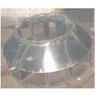 Impeller Dia 850 x 12 Blade Rubber Lining For Chemical Resistance 1