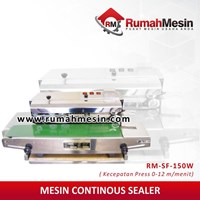 Mesin Continuous Band Sealer Sf 150 W