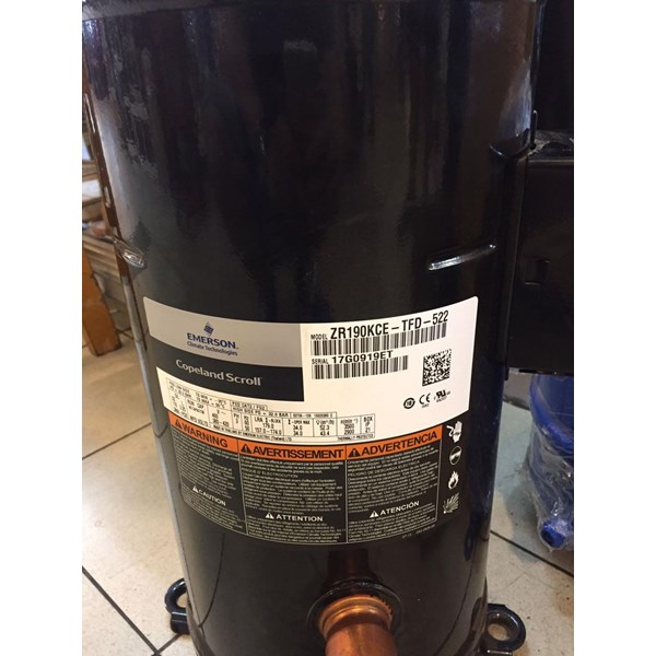 Compressor ac Copeland ZR190 KCE TFD 522