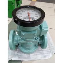 flow meter oval non reset
