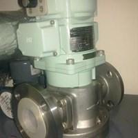 Jual oval flow meter SS