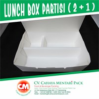 Lunch Box Partisi 2+1