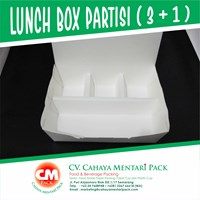 Lunch Box Partisi 3+1