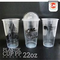 Sablon Gelas Plastik PP