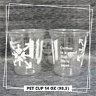 Sablon Gelas Plastik PET 4
