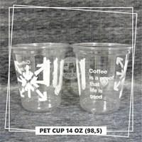 Beli Sablon Gelas Plastik PET 4