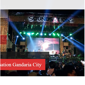 Rental LED Display Soundstation