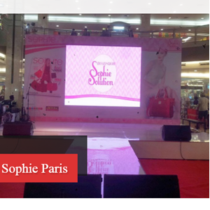 Rental LED Display Event Sophie Paris
