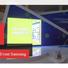 Rental LED Screen Event Samsung