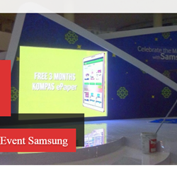 Rental LED Screen Event Samsung