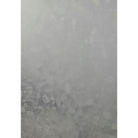 Pp Sheet Penutup Pagar Econoplas Motif Mozaik Putih