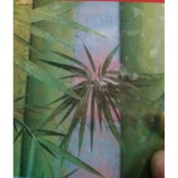Pp Sheet Penutup Pagar Innoplas Motif Bambu