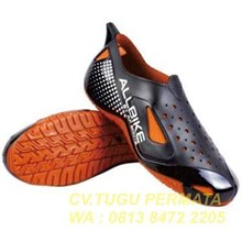 Sepatu Karet pendek Ap Boots Allbike Orange