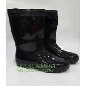 Sepatu Ap Boots Black 1 Pendek