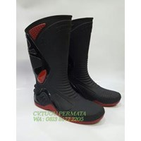 Sepatu Ap Boots  Moto 2 Black Red 1