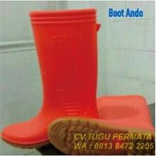 Sepatu Boots Ando Herkules Orange