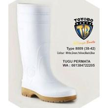 Sepatu Boots Toyobo Putih
