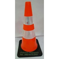 Traffic Cone Base Hitam 70cm 1