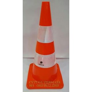Traffic Cone Full Orange Gosave 70cm
